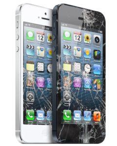 smadret iphone 5 skærm