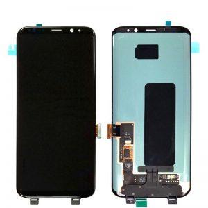 Samsung Galaxy S8 Skærm i Sort